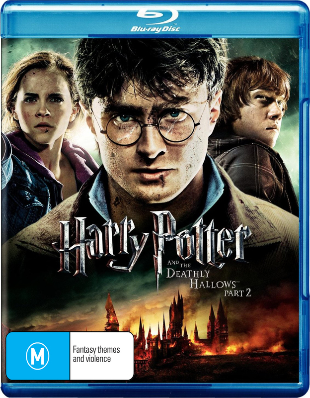 Harry Potter and the Deathly Hallows - Part 2 (4 Disc Blu-Ray/DVD/Digital Copy)