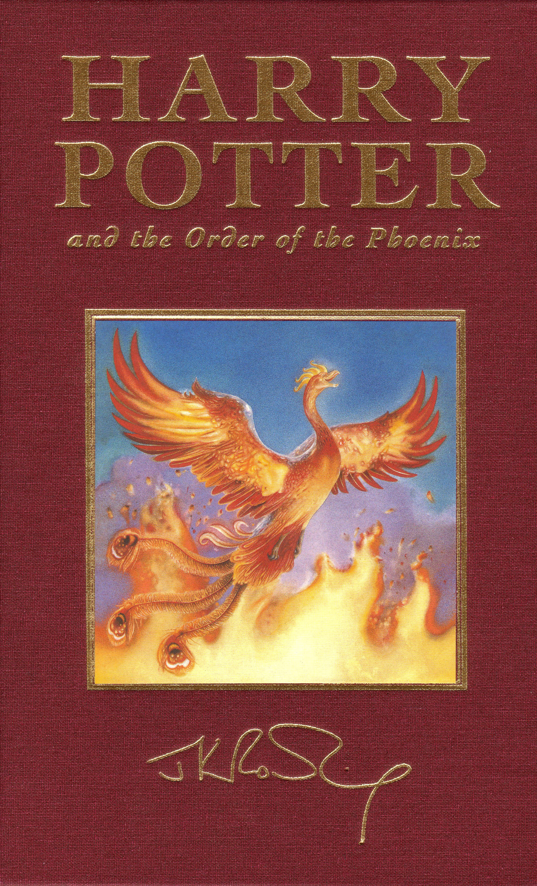 Harry Potter & the Order of the Phoenix Special Edition