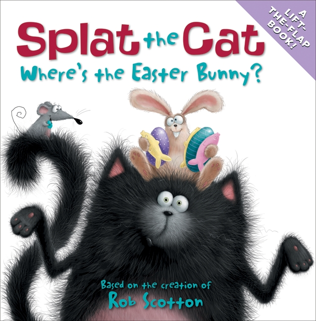 Cover Art for Where's the Easter Bunny?, ISBN: 9780061978616