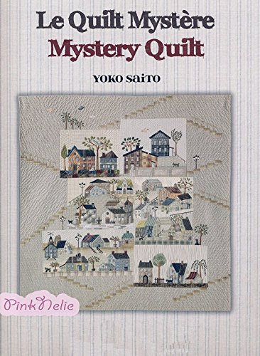 Yoko Saito Patchwork Quilt Houses - Japanese Craft Pattern Book (Traditional Chinese Version)