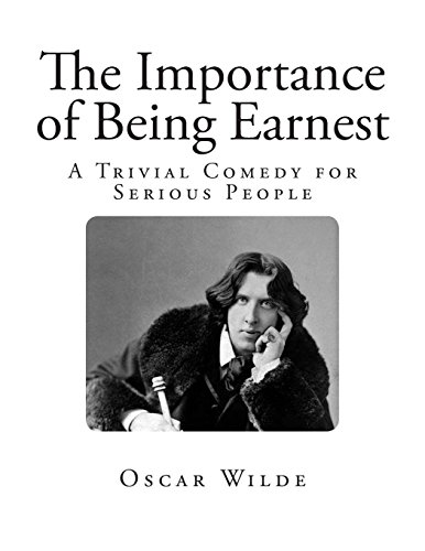 the importance of being earnest psuedo relations The characters of the importance of being earnest can certainly be ridiculed, but they are so certain of themselves and so smart that they can also make yet even as he played with his theme for laughs, wilde saw earnestness as being a key ideal in victorian culture much of british society struck wilde.