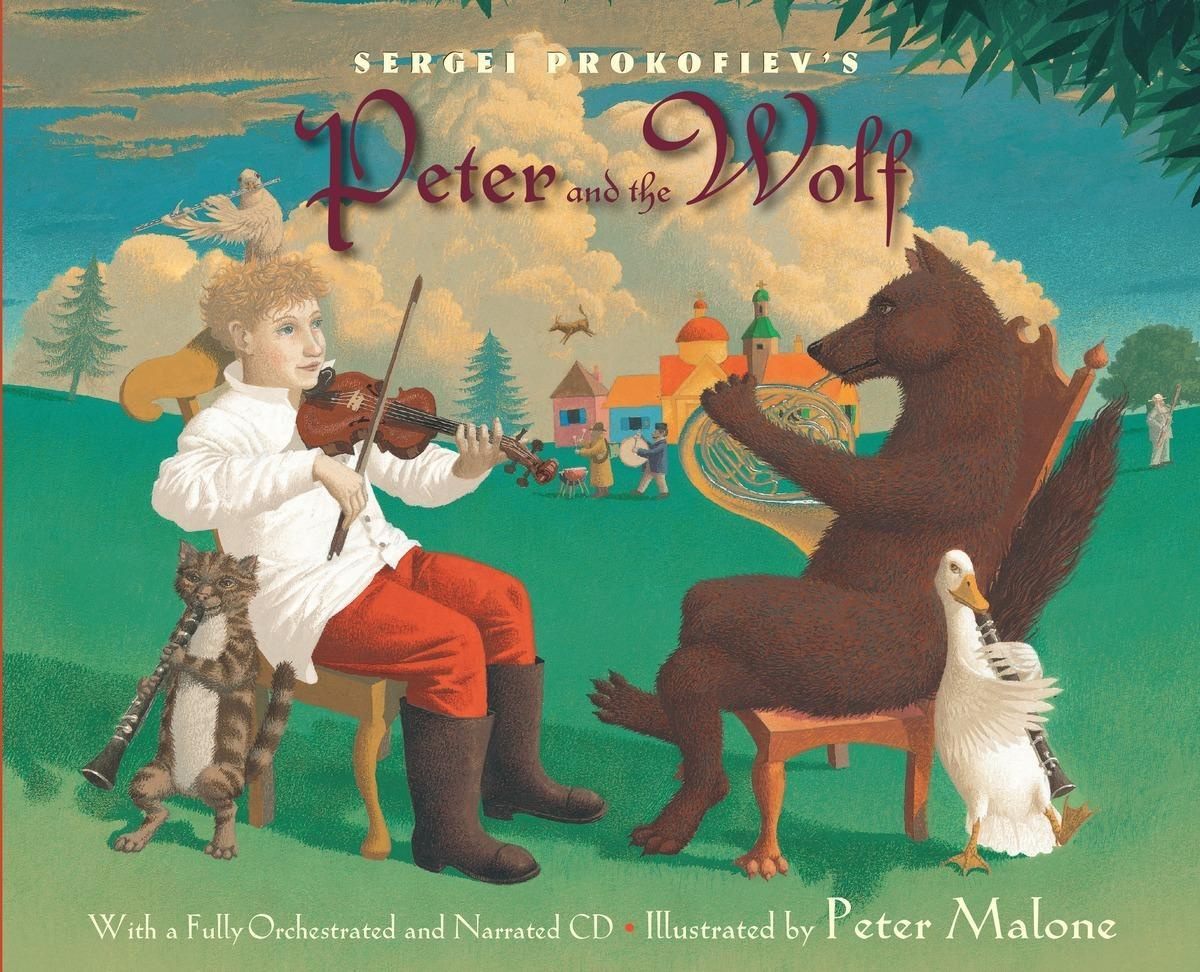 Sergei Prokofiev Peter and Wolf by Sergei Prokofiev, ISBN: 9780375824302