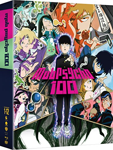 Mob Psycho 100: The Complete Series (Limited Edition Blu-ray/DVD Combo)