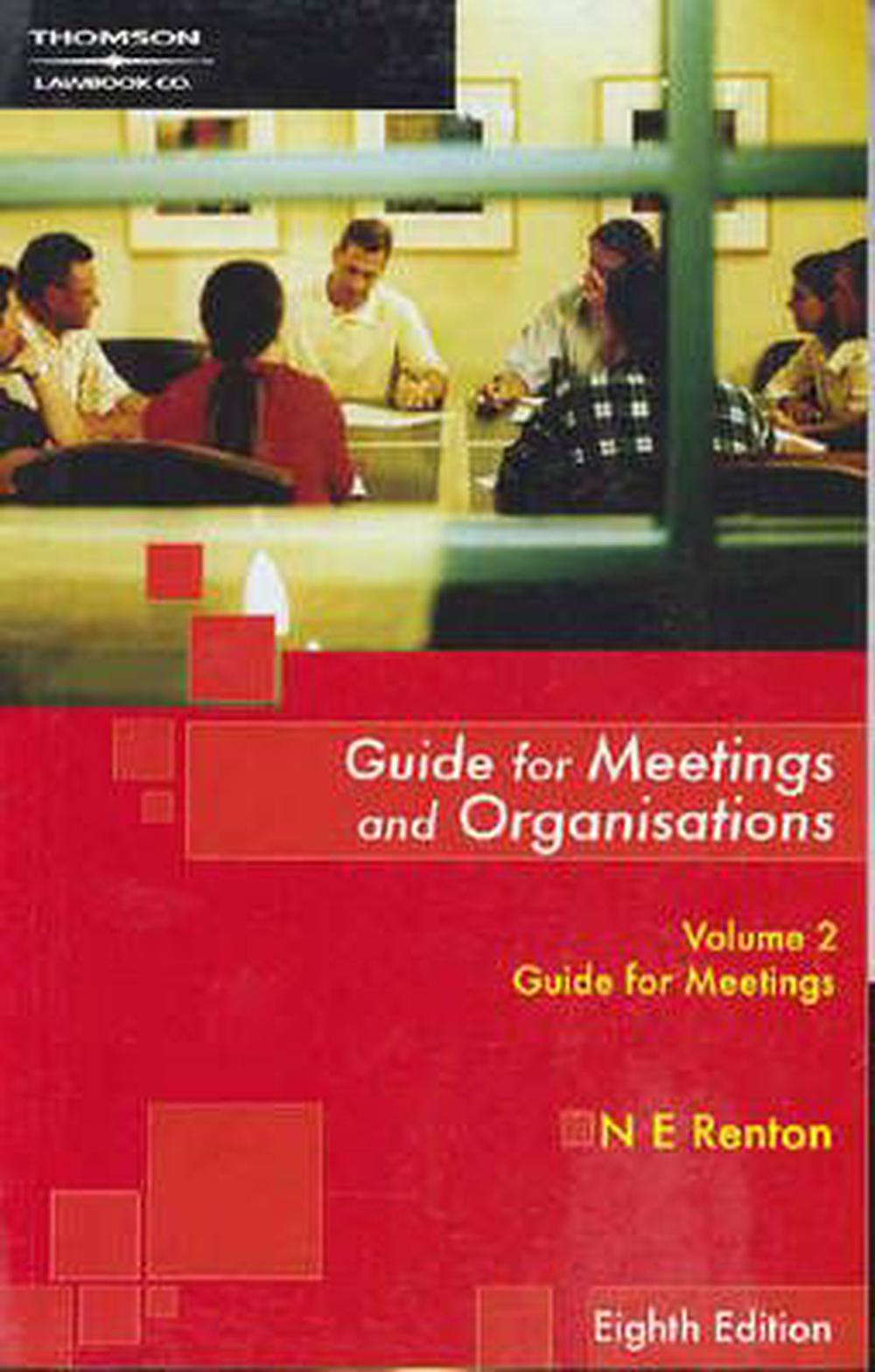 Guide for Meetings and Organisations: Guide for Meetings v. 2