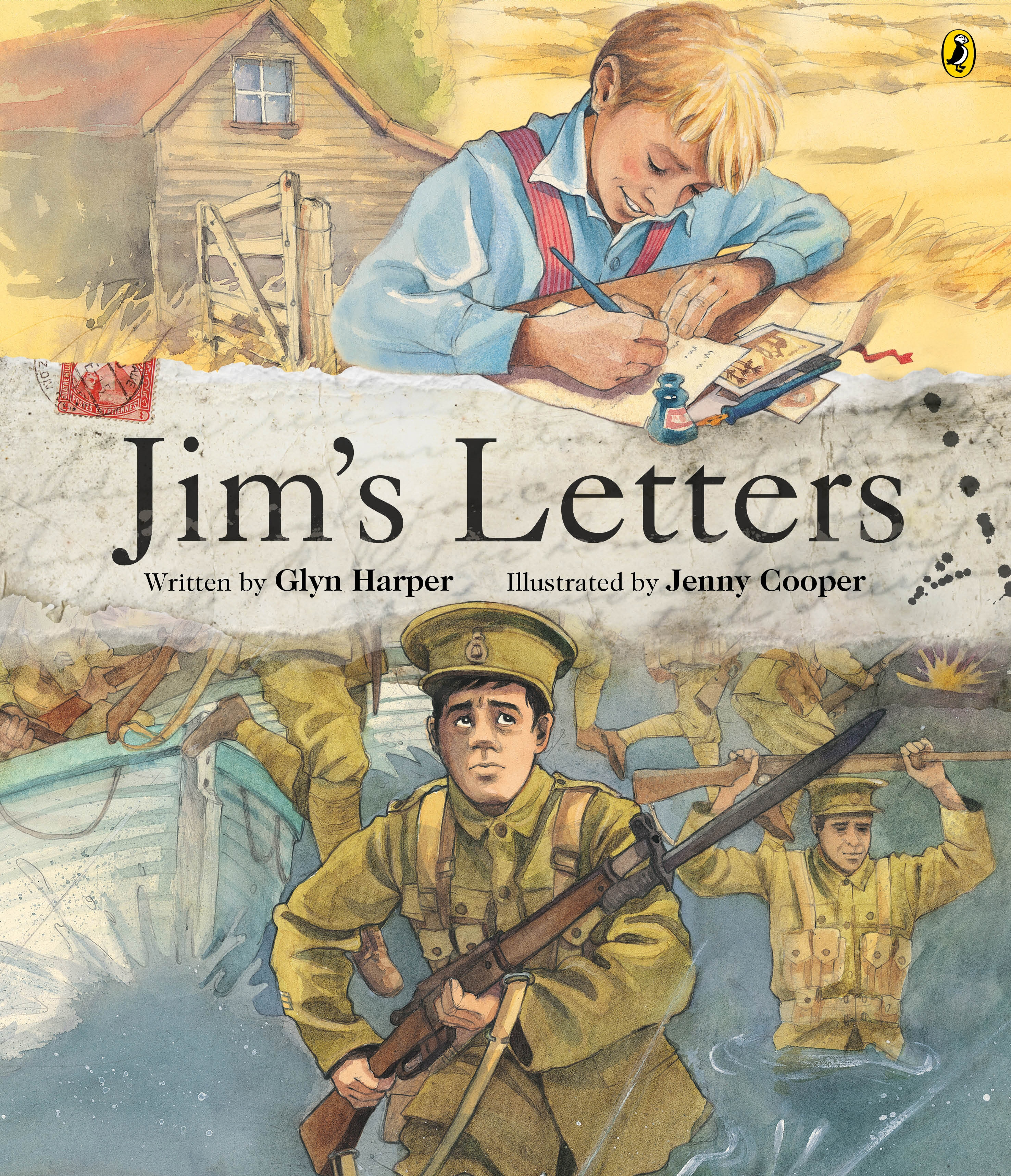 Cover Art for Jim's Letters, ISBN: 9780143505907