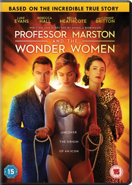 Proffessor Marston and the Wonder Women [DVD] [2018]