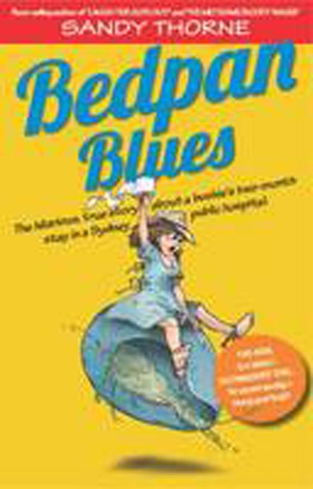 Cover Art for Bedpan Blues, ISBN: 9780975162736