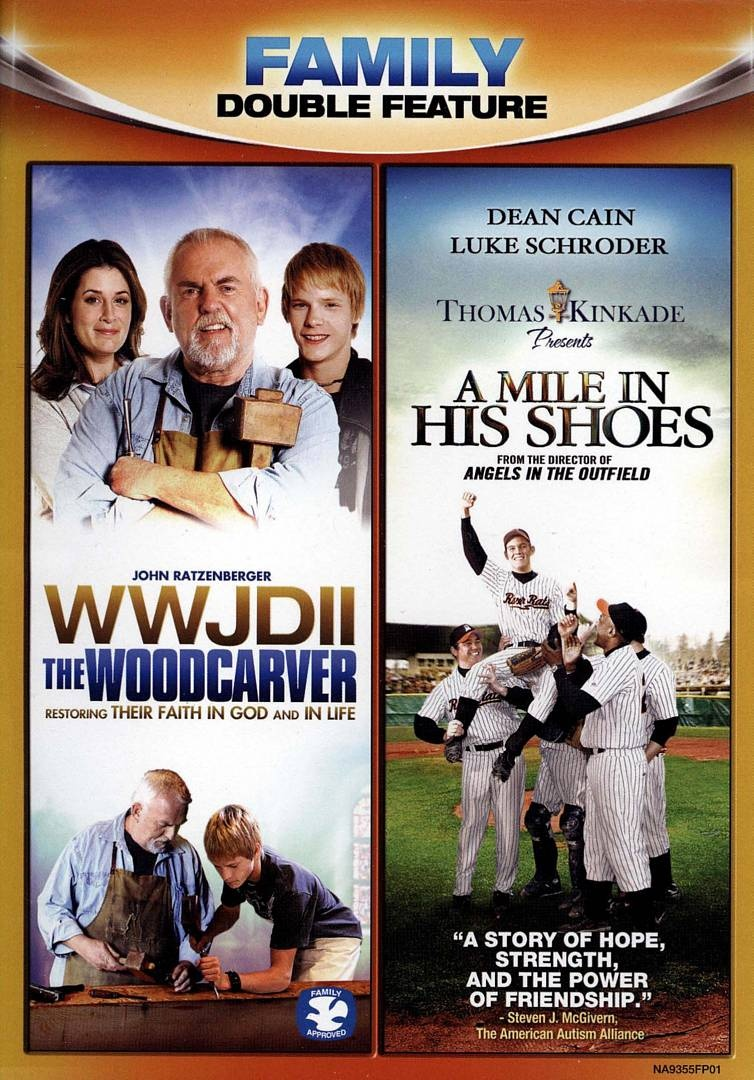 Wwjd II: Woodcarver / A Mile in His Shoes [DVD] [Region 1] [US Import] [NTSC]