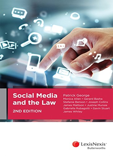 Social Media and the Law, 2nd edition