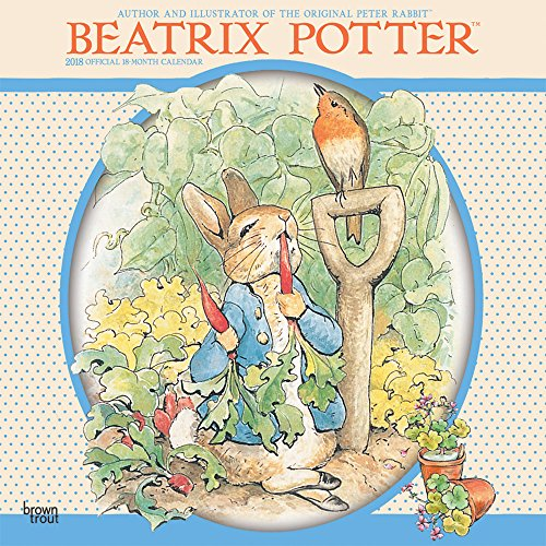 Beatrix Potter 2018 Wall Calendar