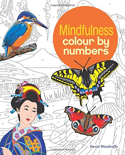 Colour by Number: Mindfulness (Colouring Books)