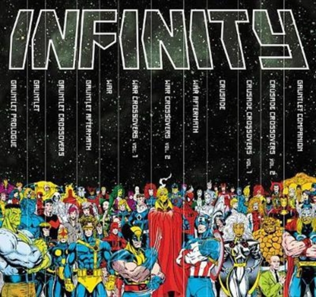Infinity Gauntlet Box Set Slipcase by Various Artists, ISBN: 9781302909185
