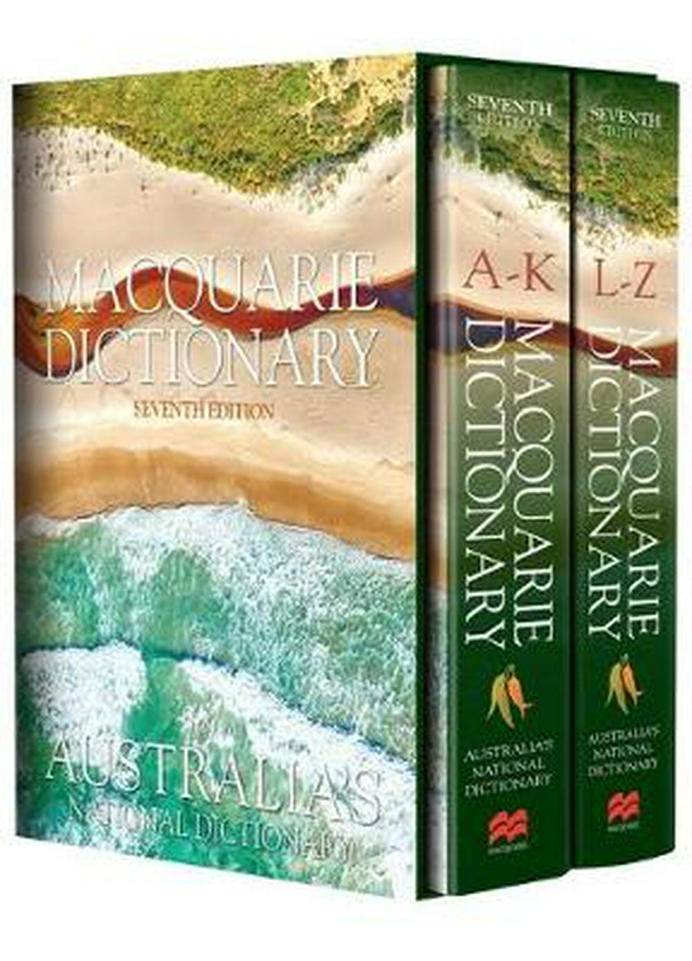 Macquarie Dictionary Seventh Edition by Macquarie Dictionary, ISBN: 9781742619811