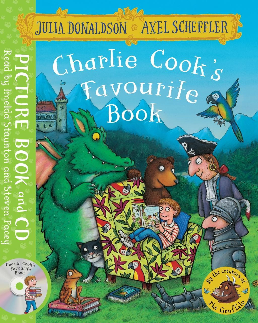 Charlie Cook's Favourite BookBook and CD Pack