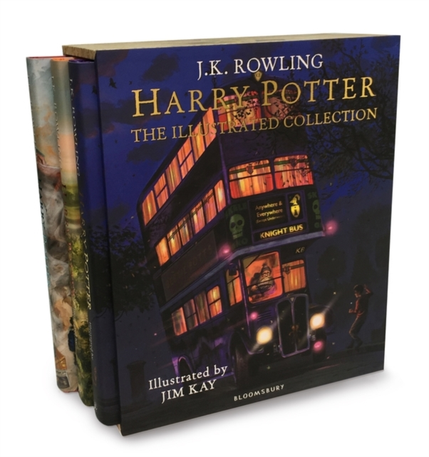 Harry Potter The Illustrated Collection by JK Rowling, ISBN: 9781408897317