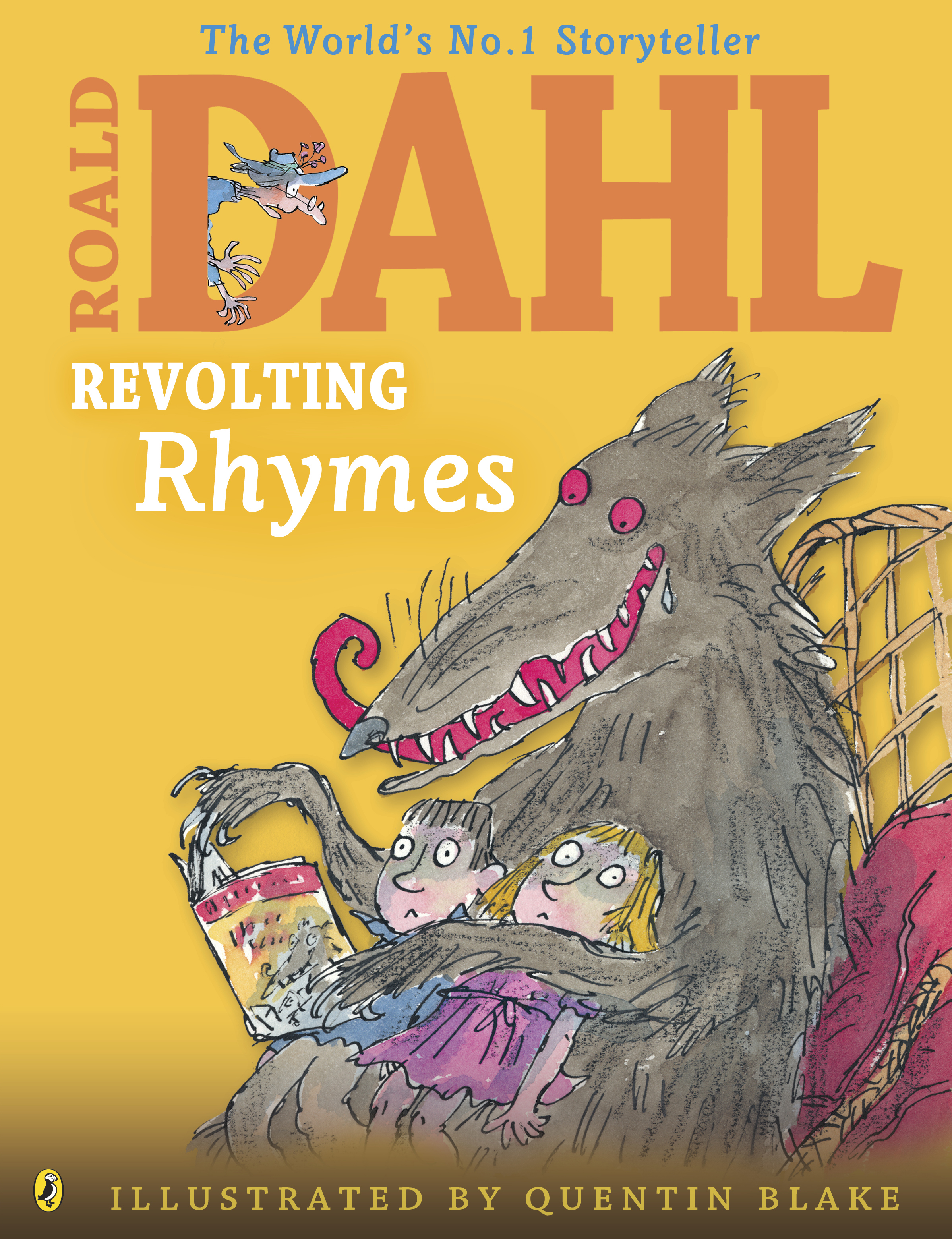 Cover Art for Revolting Rhymes, ISBN: 9780141350370