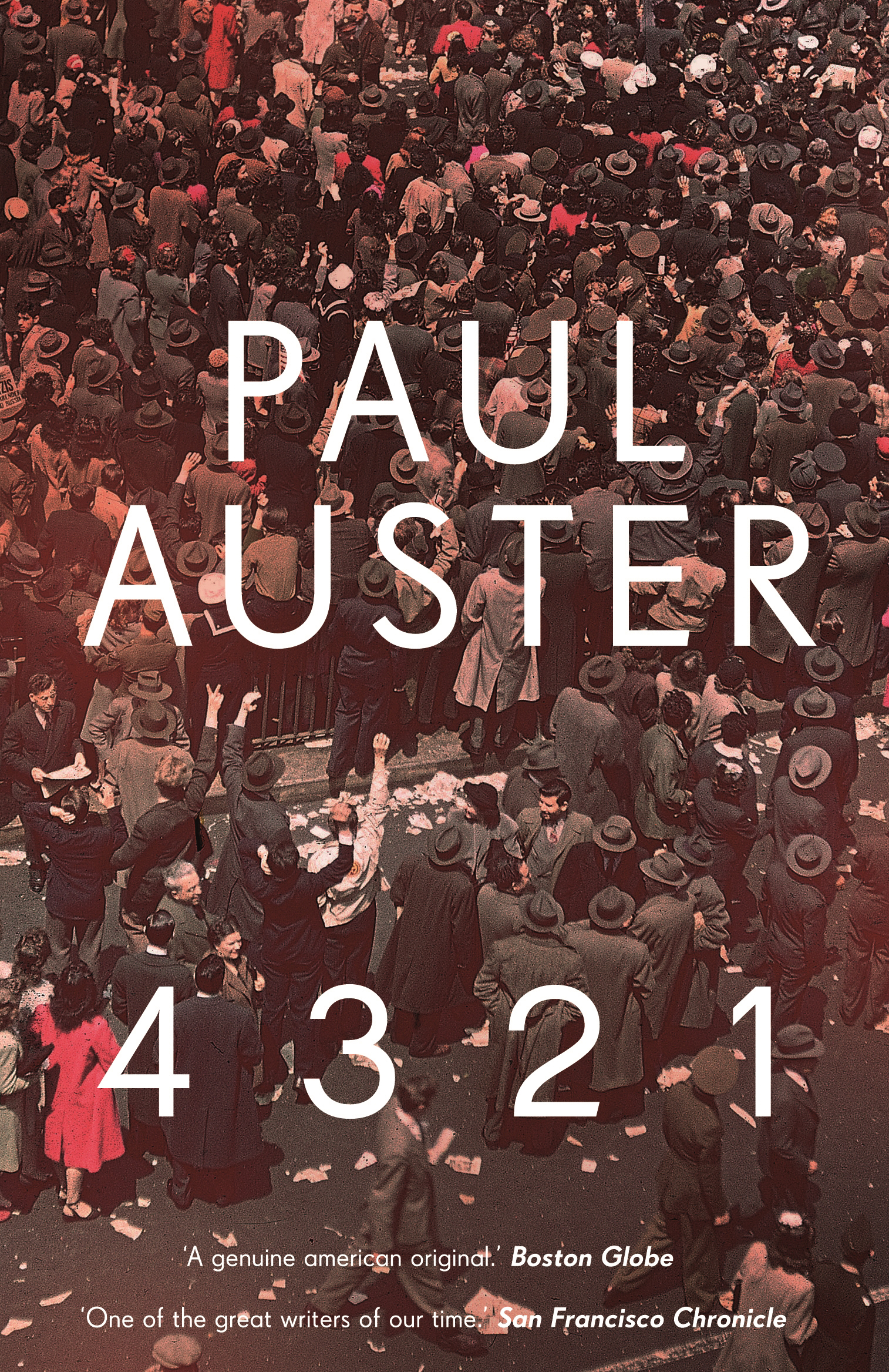 4 3 2 1 by Paul Auster, ISBN: 9780571324651