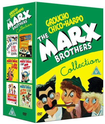 Marx Brothers Collection: A Night At The Opera / A Day At The Races / At The Circus / Go West / The Big Store / A Night In Casablanca [DVD]