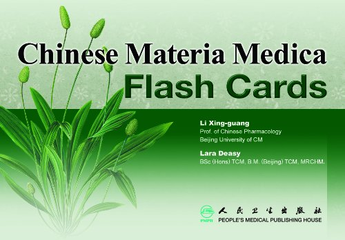Flash Cards to Identify Chinese Medicinals