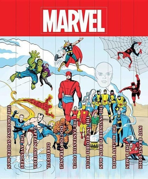 Marvel Famous Firsts: 75th Anniversary Masterworks Slipcase Set by Wally Wood, ISBN: 9780785191285