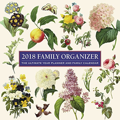 2018 Calendar: Family Organizer: The Ultimate Year Planner and Family Calendar (Calendars 2018)