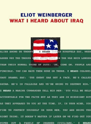 What I Heard About Iraq