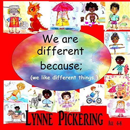 We are different because; (we like different things.): We like different things.