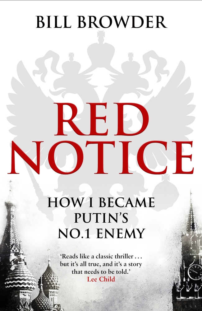 Cover Art for Red Notice: How I Became Putin's No. 1 Enemy, ISBN: 9780593072950
