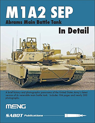 Meng Sabot Publication M1A2 Sep Abrams Main Battle Tank in Detail Book #SP001