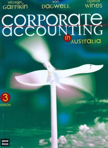Corporate Accounting in Australia