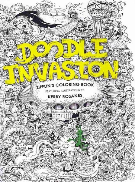 Doodle Invasion by Zifflin, ISBN: 9781492977056