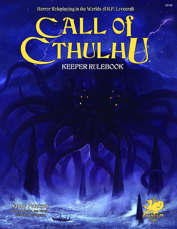 Call of Cthulhu Rpg Keeper Rulebook: Horror Roleplaying in the Worlds of H.p. Lovecraft