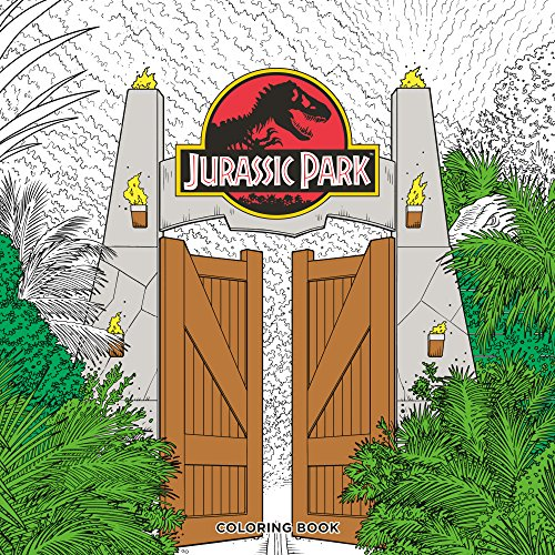 Jurassic Park Adult Coloring Book