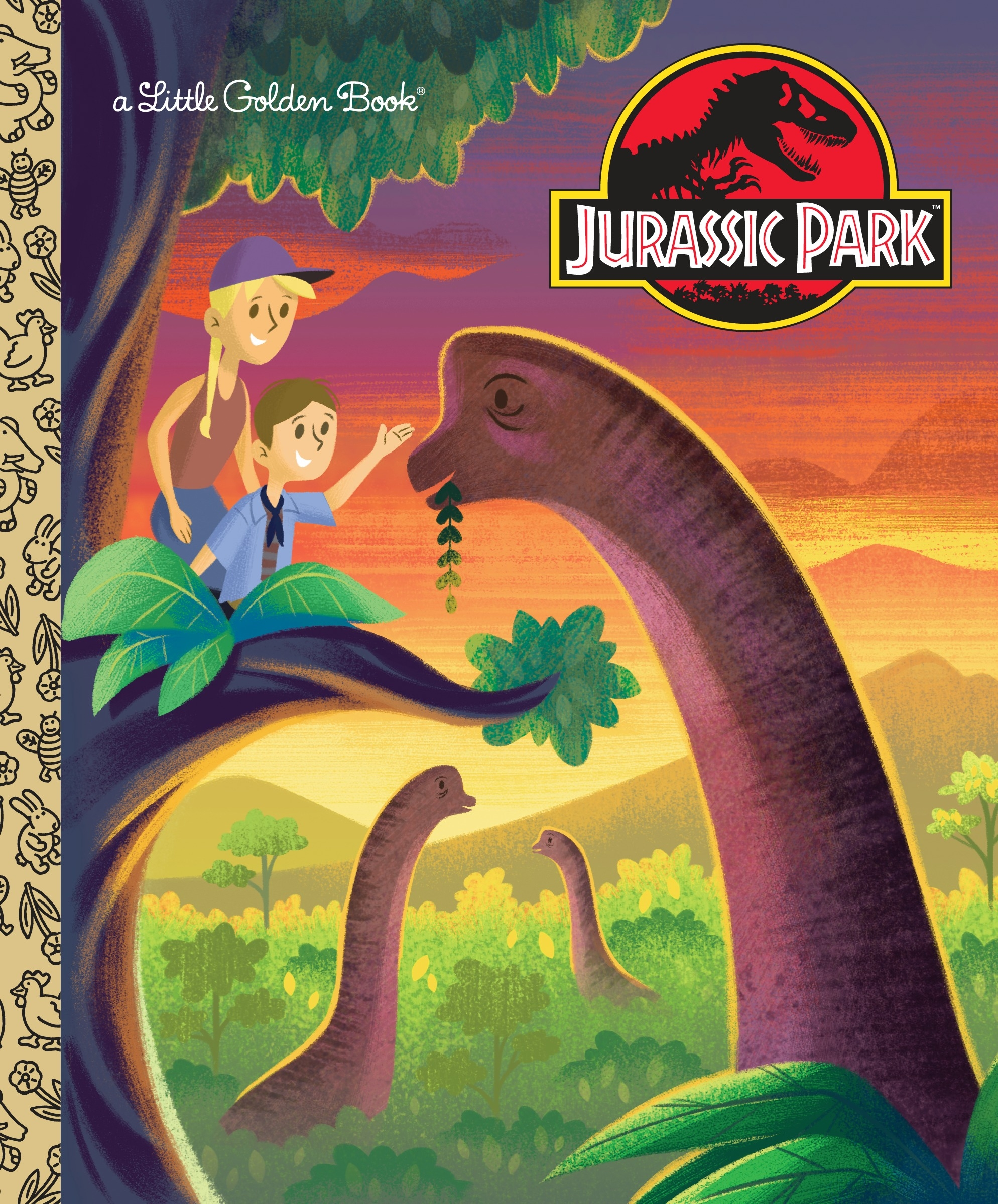 Jurassic Park Little Golden Book