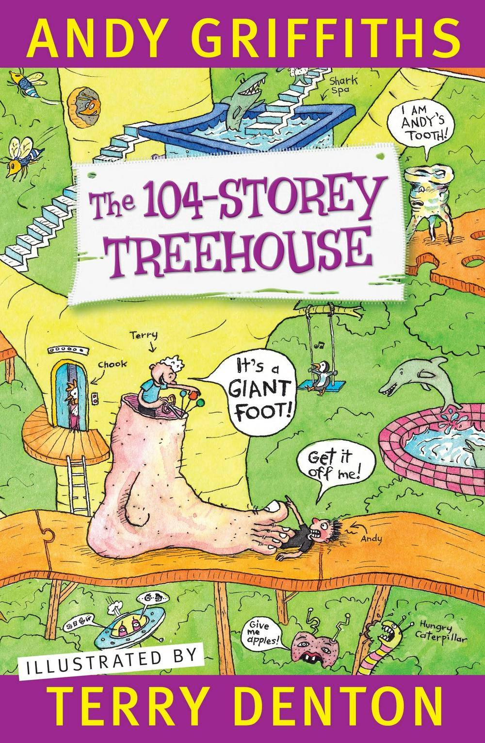 The 104-Storey Treehouse by Andy Griffiths & Terry Denton, ISBN: 9781760554170