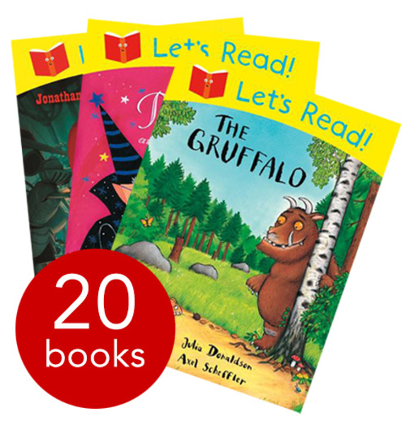 Julia Donaldson Let's Read Collection 20 Picture Books Set