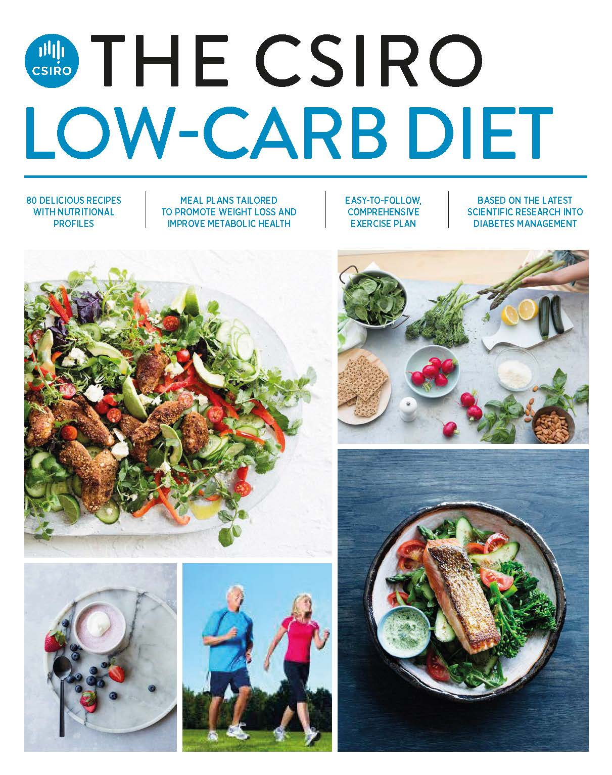 The CSIRO Low-Carb Diet by Grant Brinkworth,Pennie Taylor, ISBN: 9781925481488