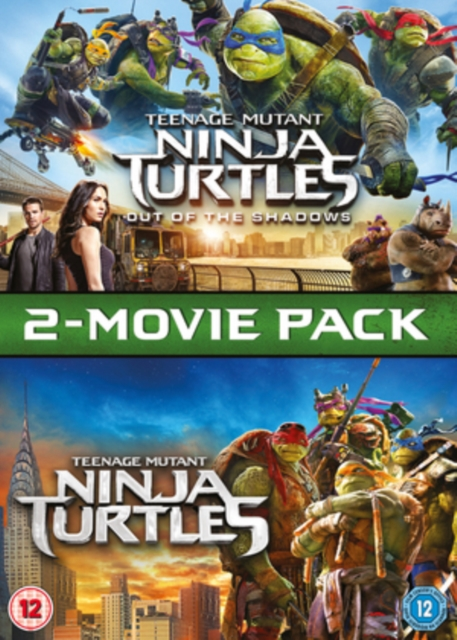 Teenage Mutant Ninja Turtles / Teenage Mutant Ninja Turtles: Out Of The Shadows Box Set [DVD]