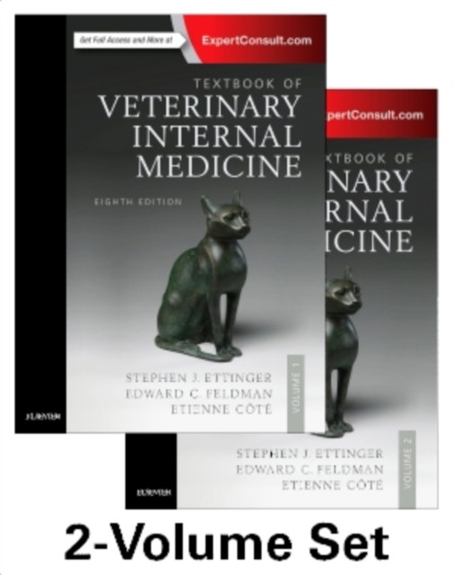 Textbook of Veterinary Internal Medicine Expert Consult, 8th edition by Stephen J. Ettinger DVM  DACVIM, ISBN: 9780323312110