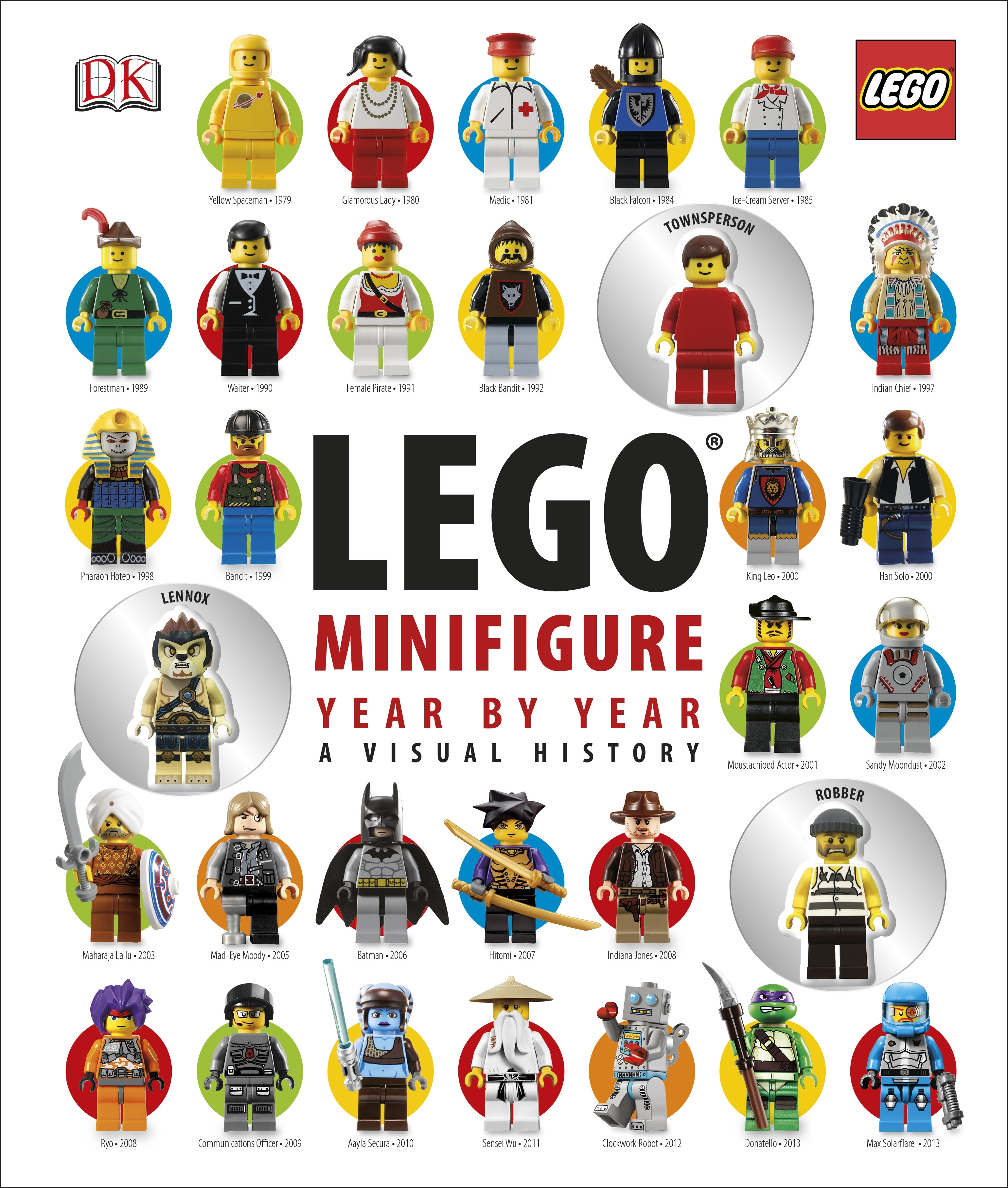 LEGO® Minifigure: Year by Year: A Visual Chronicle by Dorling Kindersley, ISBN: 9781409333128