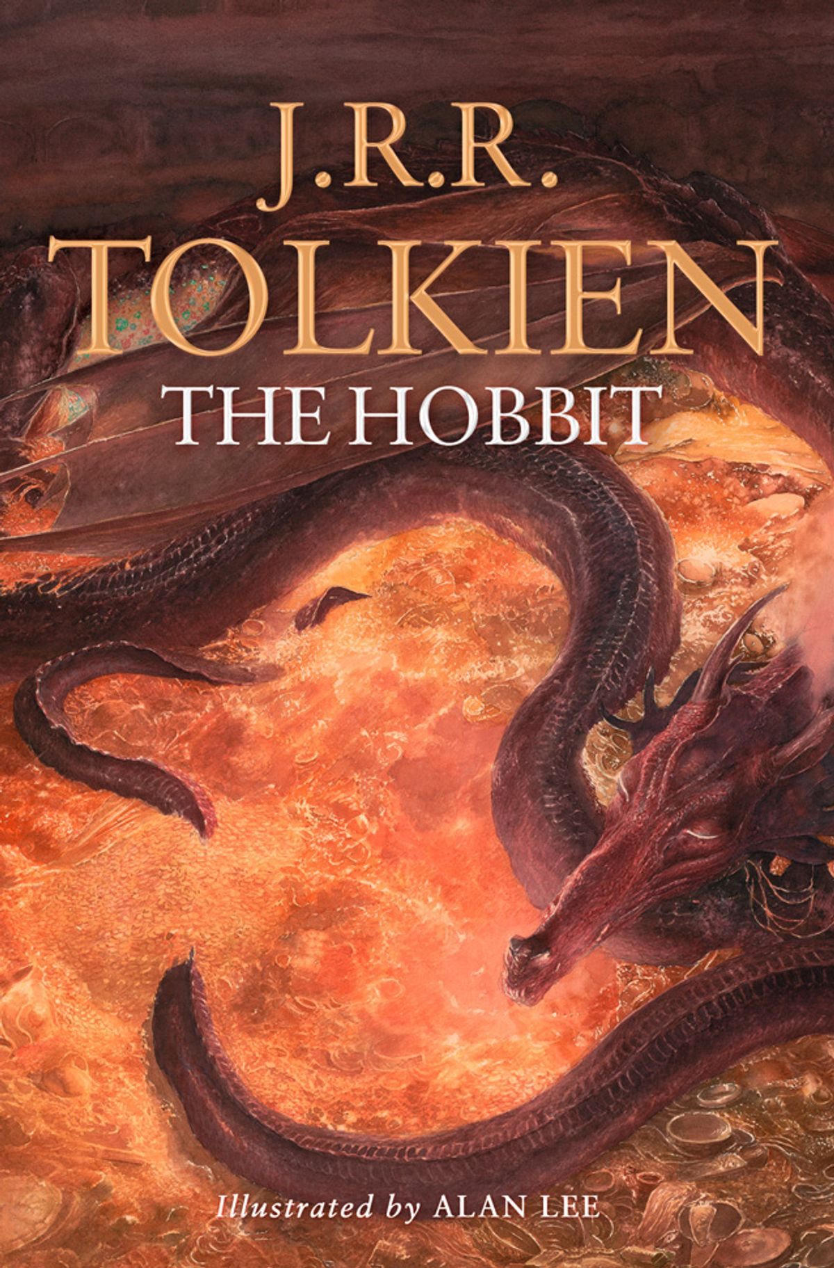 The Hobbit: Illustrated by Alan Lee by Alan Lee, J.R.R. Tolkien, ISBN: 9780007487318