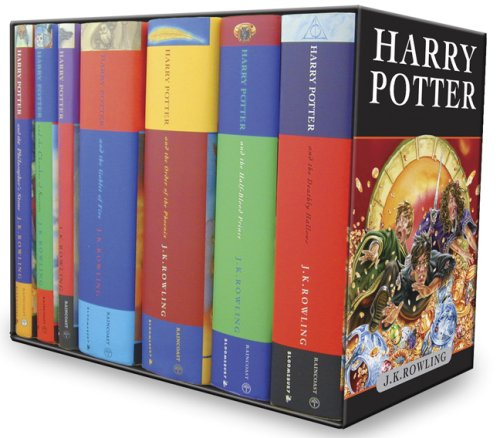 Harry Potter Box Set, Books 1-7, Children's Cloth