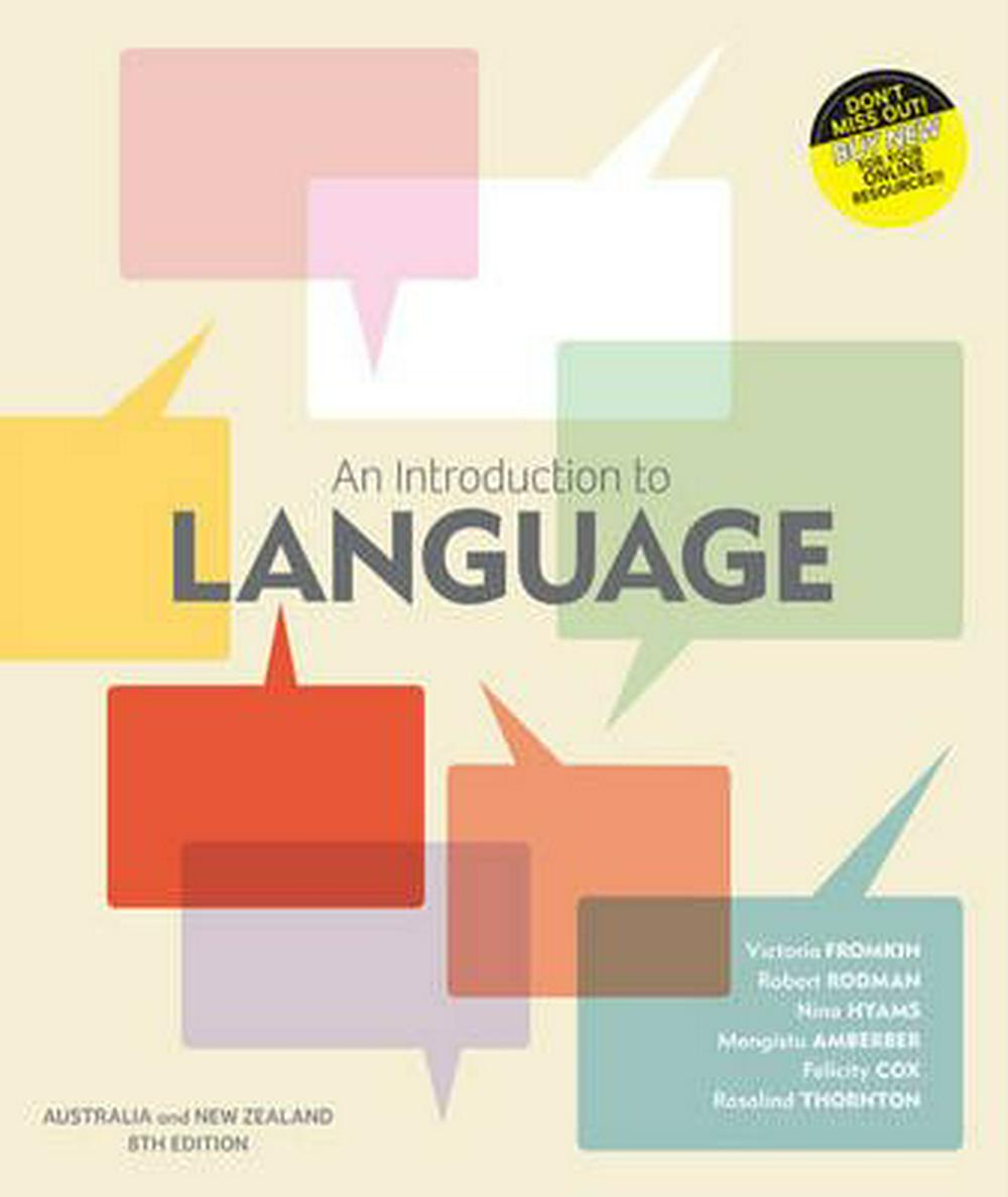 An Introduction to Language with Student Resource Access 12 Months