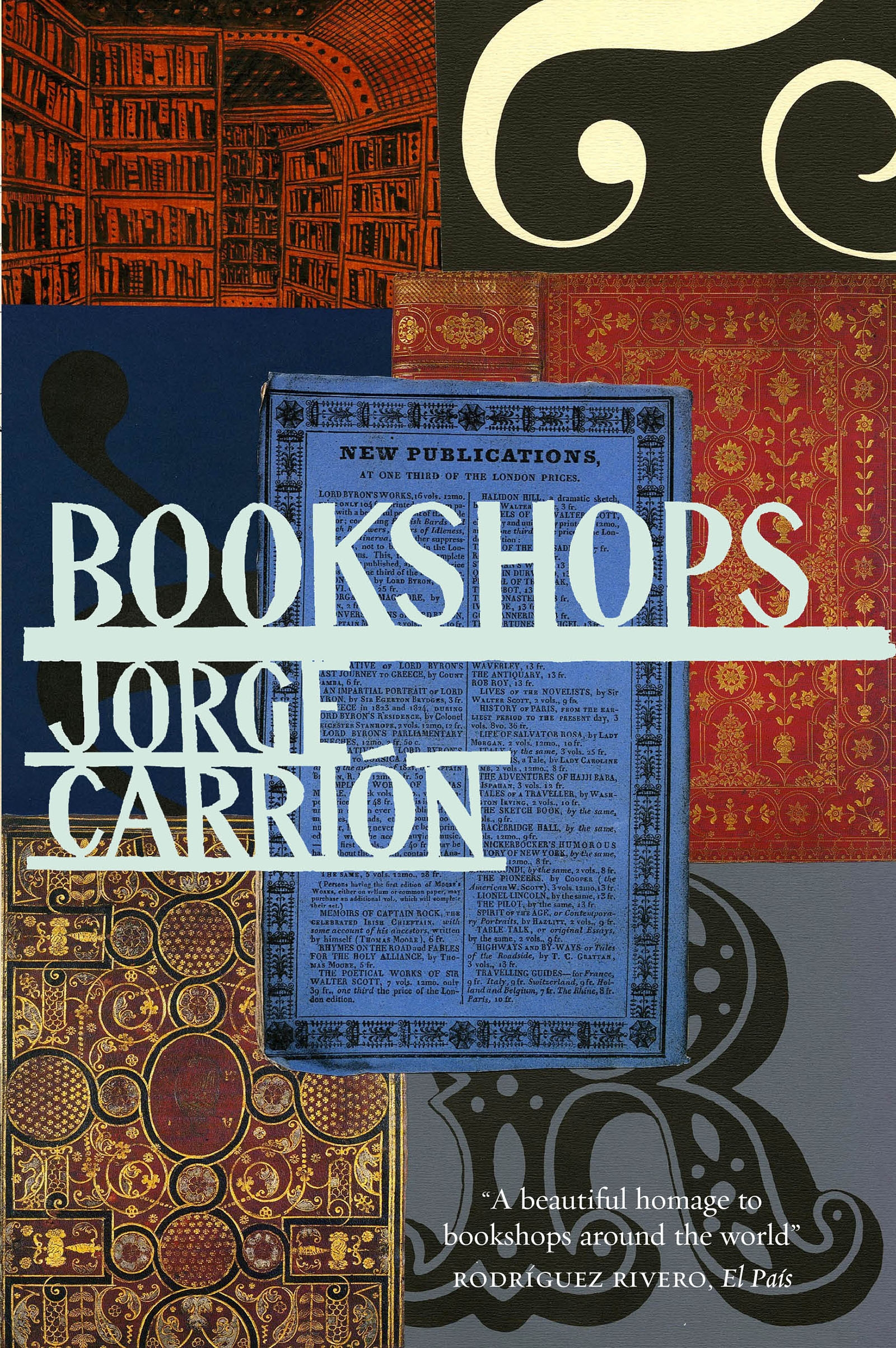 Bookshops by Jorge Carrión, ISBN: 9780857054449