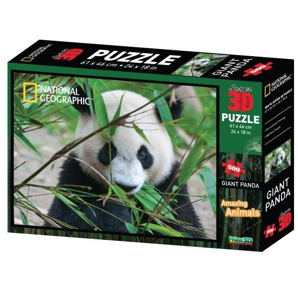 Giant Panda 3D National Geographic Puzzle