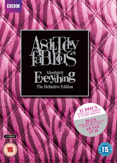Absolutely Fabulous - Absolutely Everything Definitive Edition Box Set [DVD] by 2 Entertain, ISBN: 5051561038228