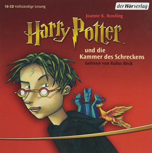 "Harry Potter und die Kammer des Schreckens (German Audio CD (10 Compact Discs) Edition of ""Harry Potter and the Chamber of Secrets"")"