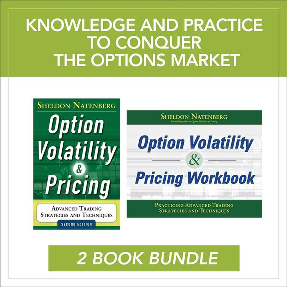 Options Volatility And Pricing Value Pack (Set)