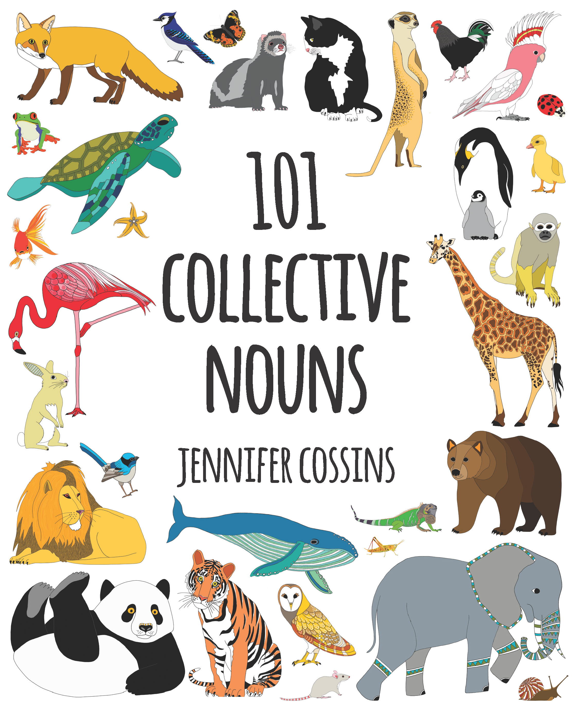 101 Collective Nouns by Jennifer Cossins, ISBN: 9780734417978