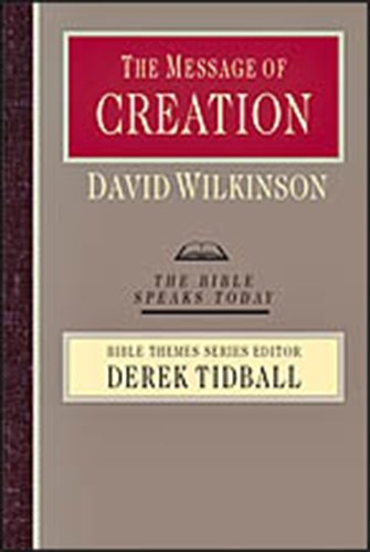 The Bible Speaks Today Bible Themes Series by Derek Tidball, ISBN: 9780830824007